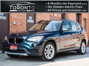 2014 BMW X1 28i+Premium+Pano Roof+Smart access+Power seats+