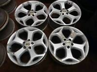 """Ford Focus ST style 18"""" 5x108 alloy wheels volvo focus mondeo connect"""