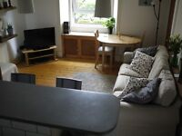 Fully furnished 1 bedroom flat + boxroom in Gorgie