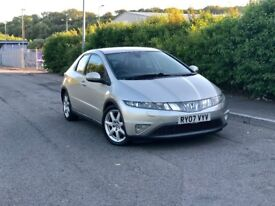 2007 HONDA CIVIC 2.2 DIESEL ** NEW MOT ** NAVIGATION