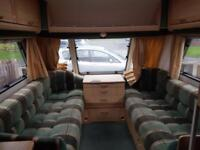 Caravan abbey vogue gts 416 2001 with motor mover