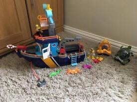 Imaginext Ocean Boat