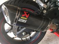 Yamaha YZF R3 Akrapovic Exhaust (Immaculate Condition)