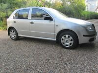 2007 Skoda Fabia 5 door hatchback- great condition, low mileage, cheap insurance