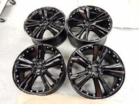 "20"" Gloss Black Alloy Wheels"