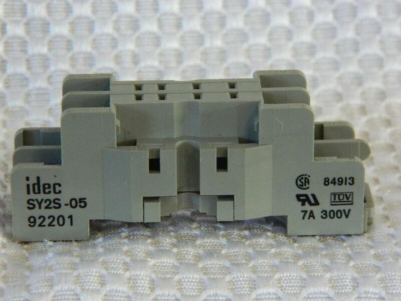 Idec SY2S-05C Relay Base  USED