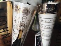 2 Ritzenhoff champagne flutes