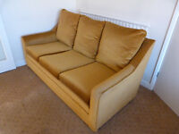 3 Piece Suite - sofa and 2 armchairs