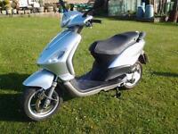 Piaggio 50cc 4t (4 stroke)