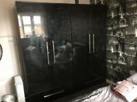 *sold* wardrobe and chest of drawer set