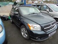 DODGE CALIBER 1968cc SXT D TURBO DIESEL 5 DOOR HATCH 2006-56