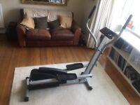 Cross trainer: Welso eclipse II elliptical trainer.