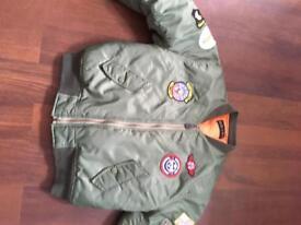 Army Style Bomber Jacket