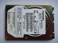 "Toshiba MK8037GSX 80GB 5400 RPM 2.5"" (HDD2D61) Internal Hard drive fully working"