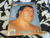 RARE WWF / WWE WRESTLING SPOTLIGHT MAGAZINE VOLUME NO 20 ANDRE THE GIANT