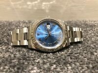 Rolex Date-Just II 116334 Azzuro Dial BARGAIN!
