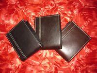 Bifold genuine leather wallet / purse for men