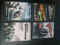 Fast Furious DVD collection