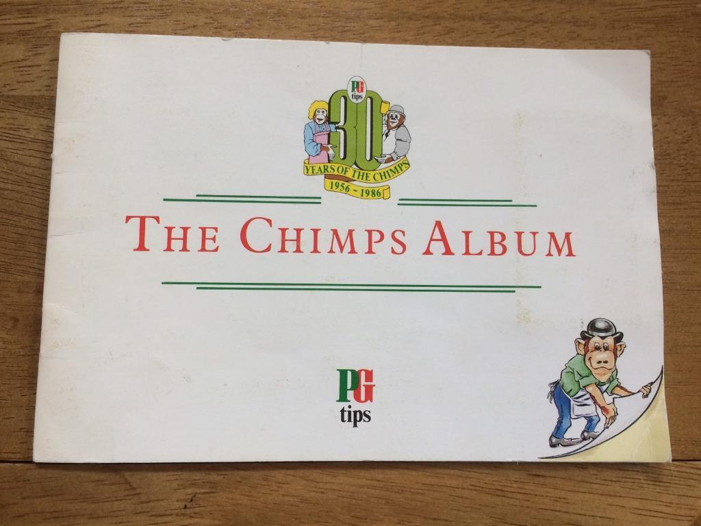 The chimps album by PG Tips