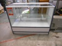 GLASS TOP SHOP DISPLAY COUNTER EXCELLENT CONDITION