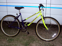 RETRO SINGLE SPEED LIGHT WEIGHT MOUNTAIN BIKE JUST BEEN SERVICED ROAD TRAIN TYRES