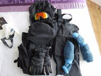 SKI WEAR - AGE 14-15 YEARS - VERY GOOD CONDITION