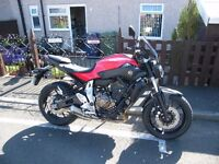 Yamaha MT07 ABS April 2015 with extras fitted. Only 1000 miles