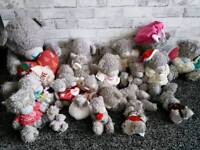 Collection Me To You Teddy Bears x20. Collection only