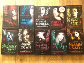 Rachel Caine - Morganville Vampire books x 10 - unread £15