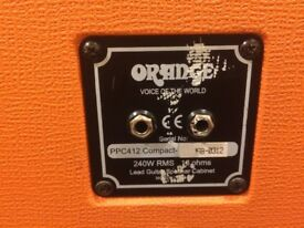 Orange Compact 4x12 Guitar Cabinet