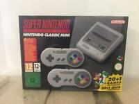Brand New Super Nintendo SNES Mini Console & Games