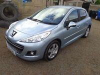 2011 Peugeot 207 Sport 1.6 HDI Diesel Blue 5 Door FSH Low Miles 12 Months MOT & 3 Months Warranty