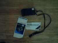 Olympus AZ200 superzoom 35mm camera (infinity zoom200),