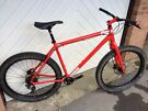 Charge Cooker 1, excellent condition, XL, rigid mountain bike, 27.5 inch plus sized wheels and tyres