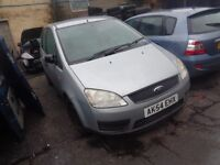 BREAKING Ford cmax 1.8L petrol 2004