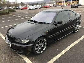 2004 BMW 330D CD SPORT COUPE / MOT / TOW BAR / LEATHER / DRIVES WELL / CARDS TAKEN / WE DELIVER
