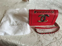 CHANEL Handbag Beautiful Red Comes with dust bag