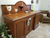 Antique Dresser Linen chest Solid Oak