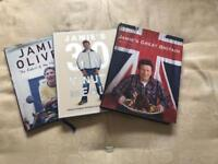3 Jamie Oliver books