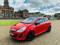 2012, Vauxhall Corsa Ltd Edi, 86 BHP, 51,100miles, 12 months MOT*, S/Hist x4, 3 Door, Petrol, Manual