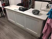 Shop retail counter