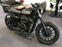 HARLEY DAVIDSON 883R SPORTSTER CUSTOM ONE OFF EXAMPLE STUNNING BIKE £6395