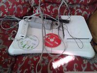 Nintendo Wii With Balance Board