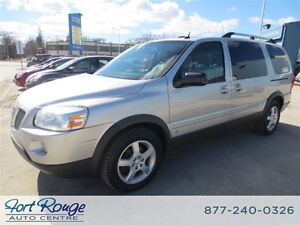 2008 Pontiac Montana SV6 FWD Extended - QUAD SEATS/REMOTE START
