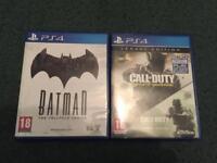 Batman Telltale & Call of Duty Infinite Warfare