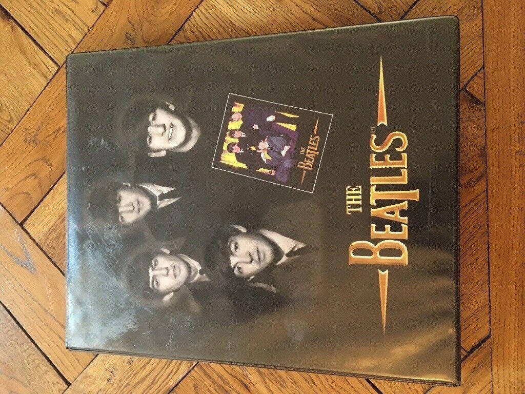 Vintage Beatles trading cards