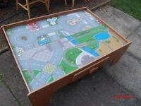 ELC PLAY TABLE WITH DRAWER DOUBLE SIDED PLAY AREA