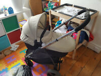 ICandy Strawberry pram and pushchair - brand new