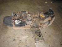 45 inch lawnmower deck in working condition (USA made in 1991)
