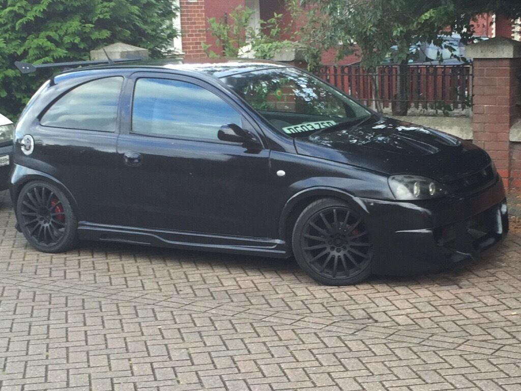 modified vauxhall corsa c in winsford cheshire gumtree. Black Bedroom Furniture Sets. Home Design Ideas